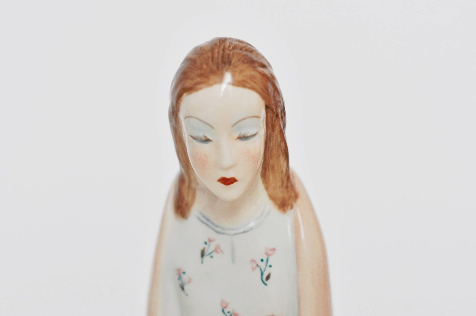 Madonna Ceramic By Lenci For Le Bertetti 1940s For Sale