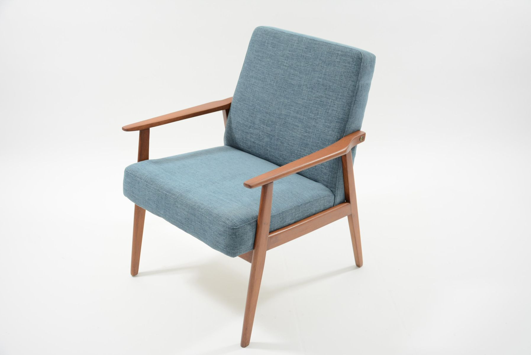 Model Snieznik Armchair In Light Blue, 1960s