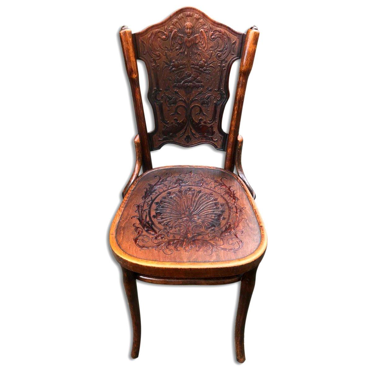 Antike Stühle Sessel Aus Bugholz Von Jacob Josef Kohn Bei Pamono