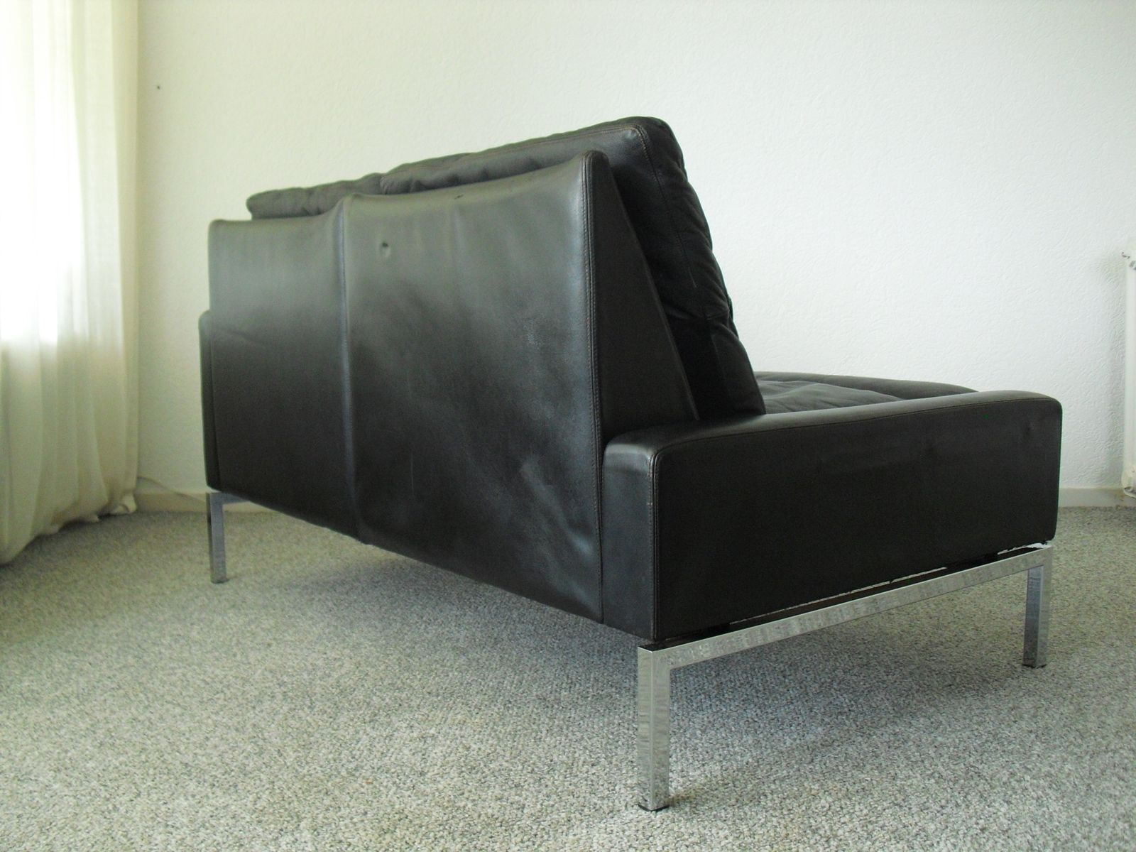 Mid Century Modern Leather Sofa 1960s For Sale At Pamono