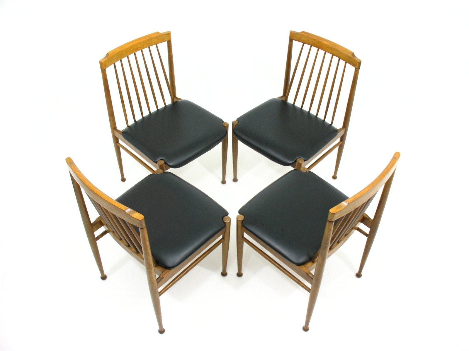 vintage st hle 1970er 4er set bei pamono kaufen. Black Bedroom Furniture Sets. Home Design Ideas