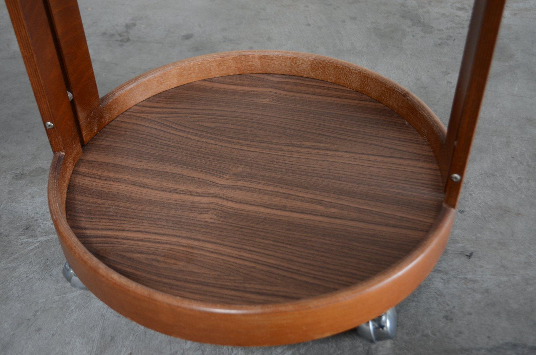 servierwagen aus teak 1960er bei pamono kaufen. Black Bedroom Furniture Sets. Home Design Ideas