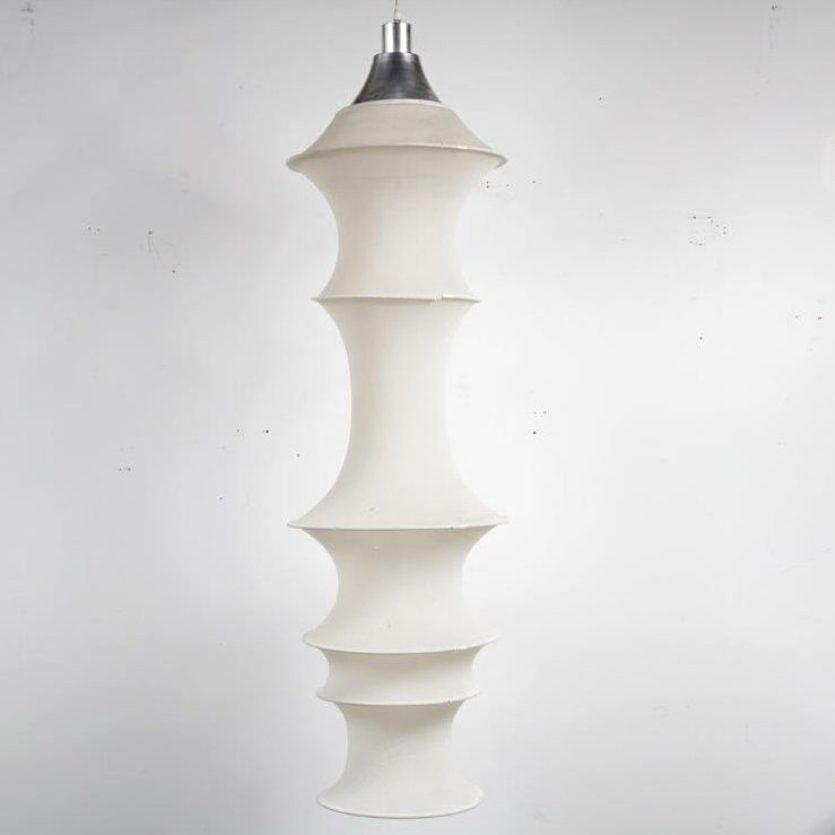 Hängelampe aus Nylon von Bruno Munari für Danese, 1960er