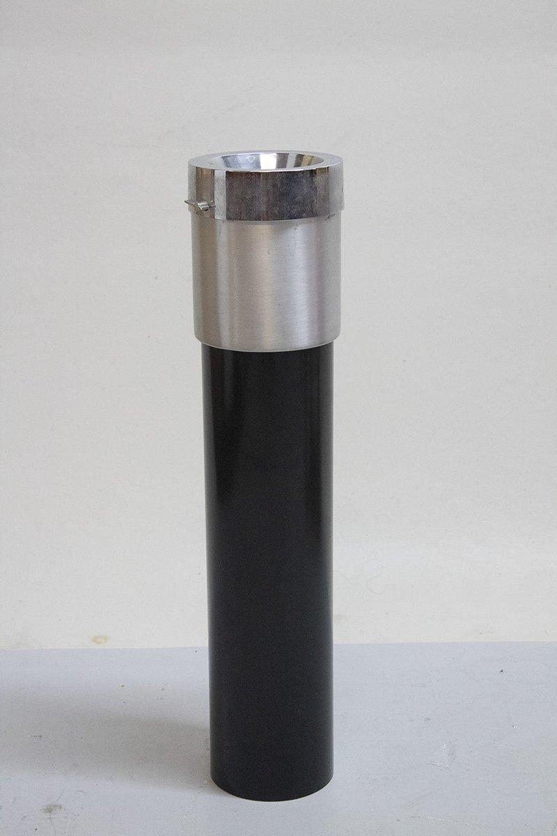 Mid-Century Aschenbecher von Stilnovo, 1960er   Dekoration > Accessoires   Silber   Stahl   Stilnovo