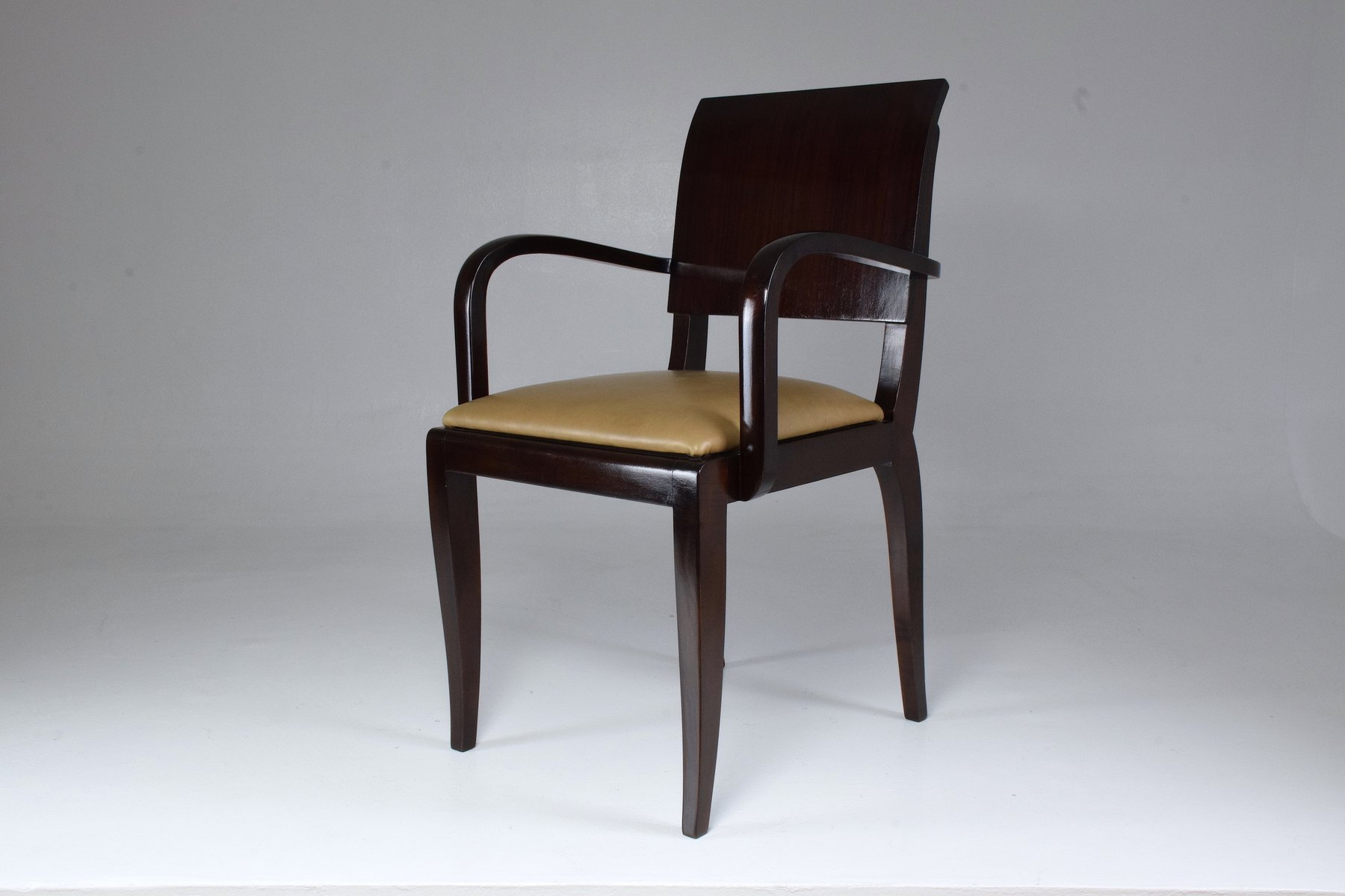 Vintage French Art Deco Chair 1940s For Sale At Pamono