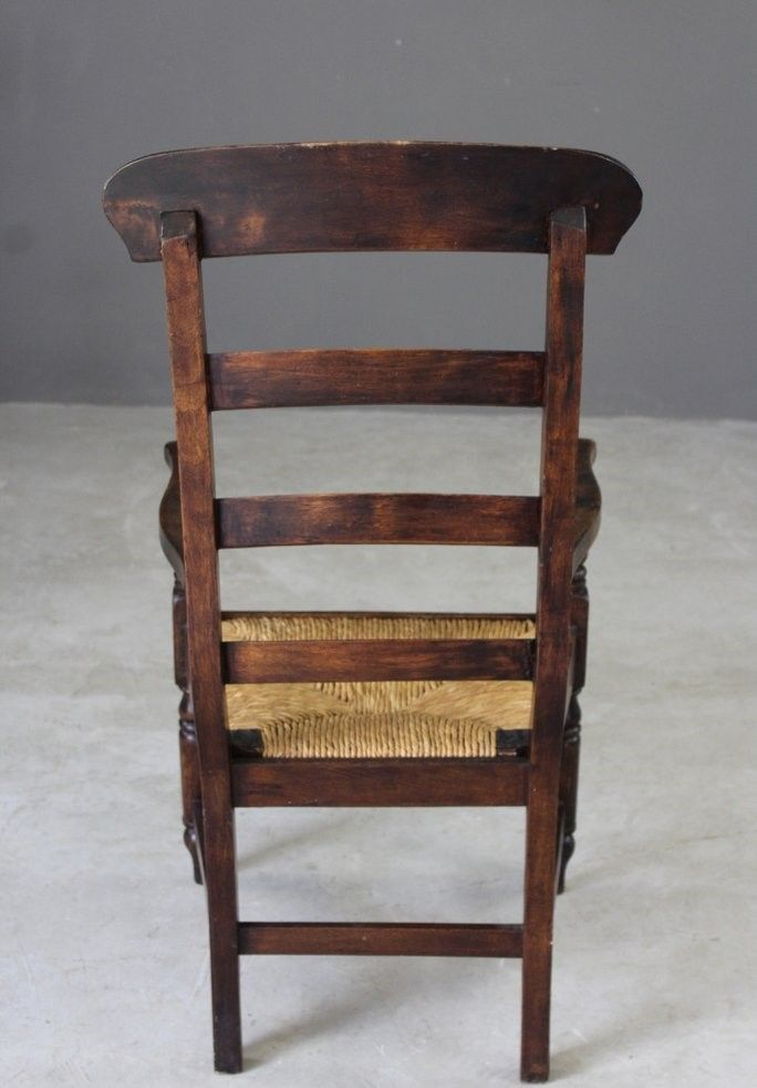Antique Rush Ladderback Chair 10. $370.00. Price per piece - Antique Rush Ladderback Chair For Sale At Pamono