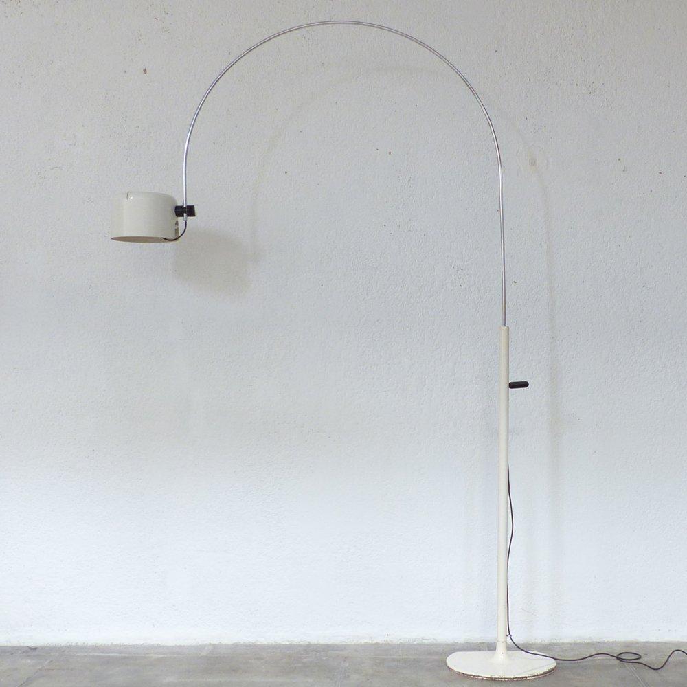 Große Coupé Vintage Stehlampe von Joe Colombo für Oluce