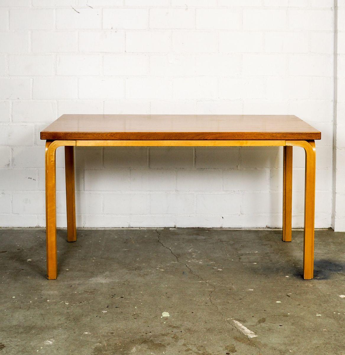 Y-Leg Tisch von Alvar Aalto fo Artek, 1950er