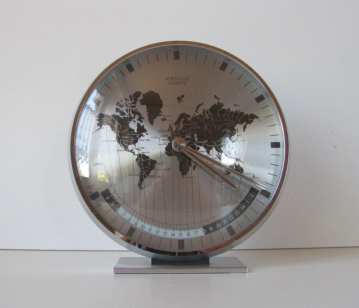 Deutsche Uhr von Heinrich Möller für Kienzle In...