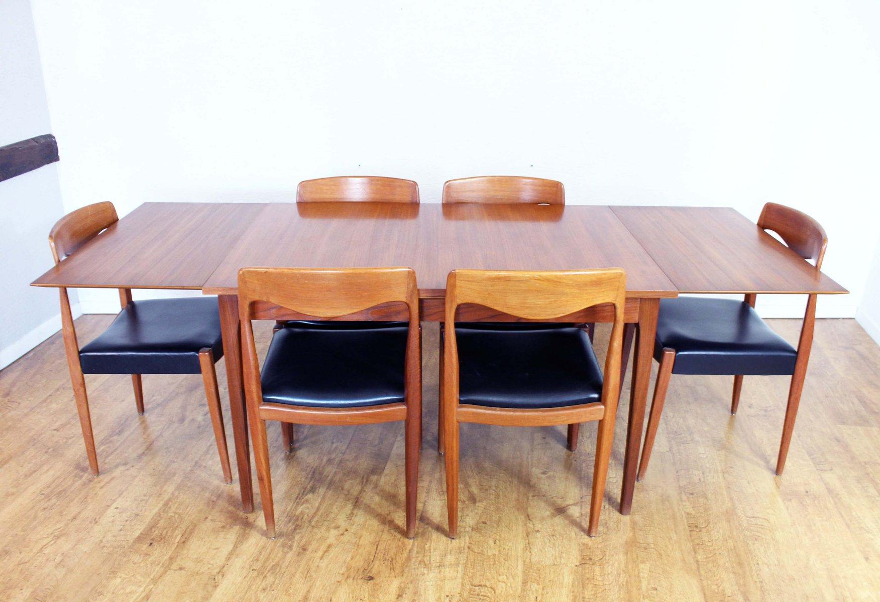 Vintage Esszimmer Set von Lübke | Küche und Esszimmer > Essgruppen > Essgruppen | Lübke