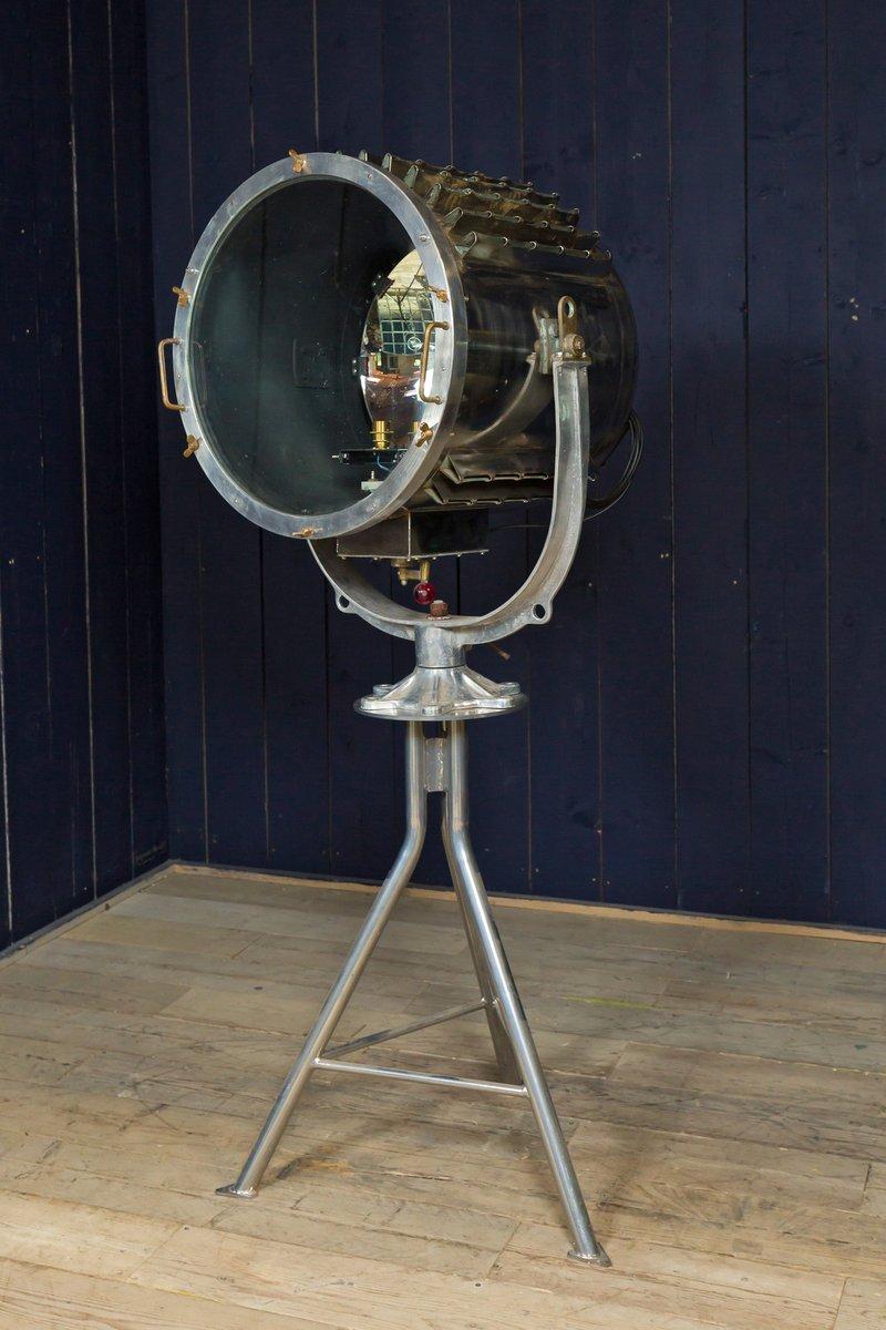Vintage Sueskanal Suchscheinwerfer