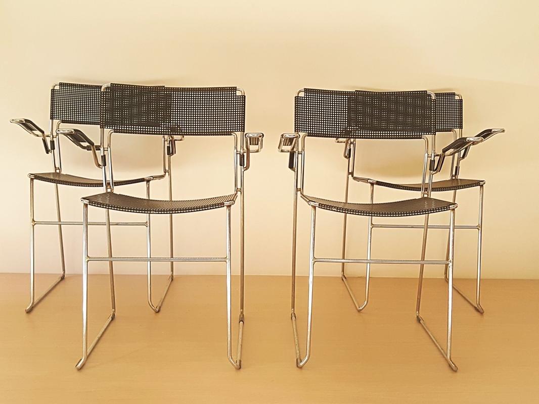 Bauhaus Chairs 1950s Set Of 4 Bei Pamono Kaufen