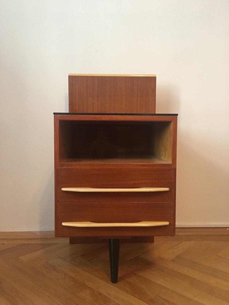 Kleiner Nachttisch von Mojmir Pozar für UP Závody, 1960er