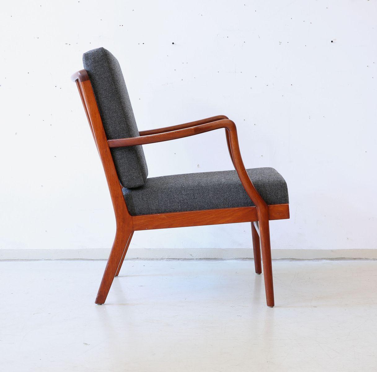 Mid Century Danish Teak Easy Chair Bei Pamono Kaufen