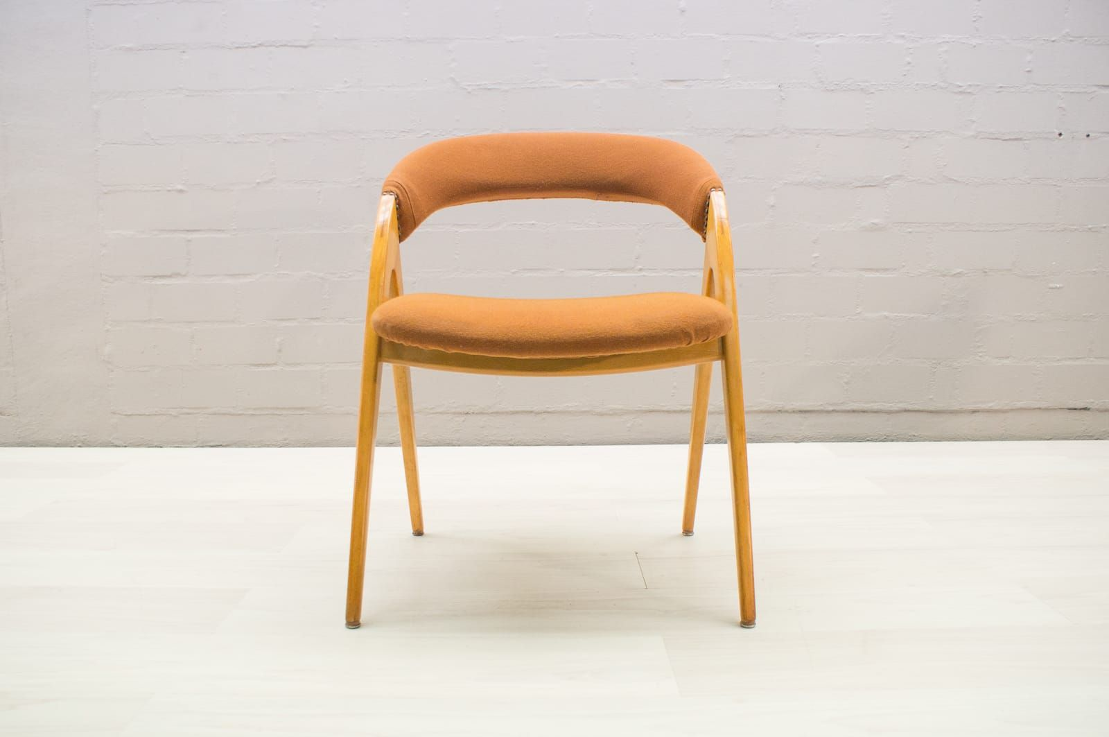 Chaise dappoint mid century 1950s