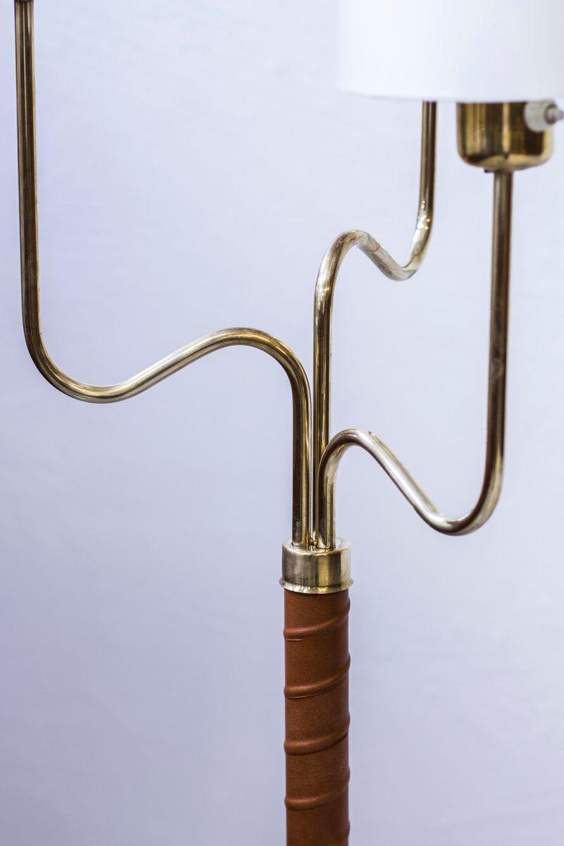 stehlampen von hans bergstr m f r asea 1940er 2er set bei pamono kaufen. Black Bedroom Furniture Sets. Home Design Ideas