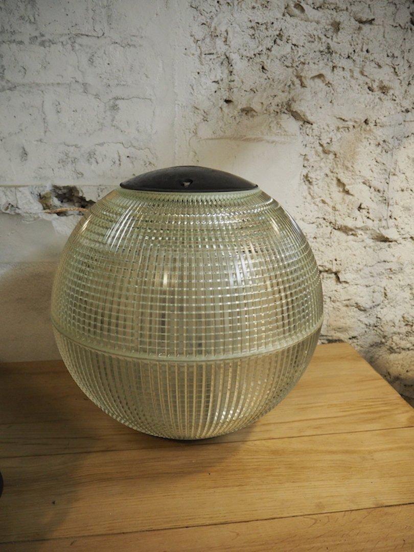 Holophane Ball Lampe, 1950er
