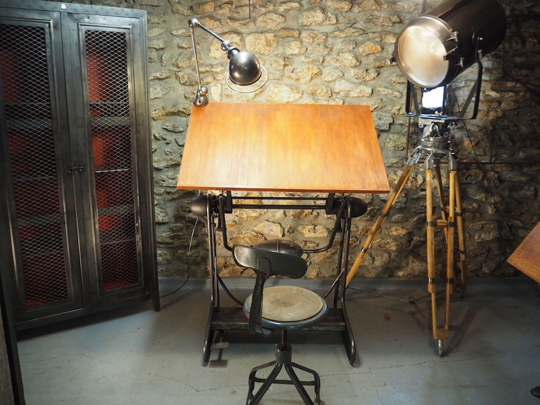 Tavolo da disegno francia anni in vendita su pamono
