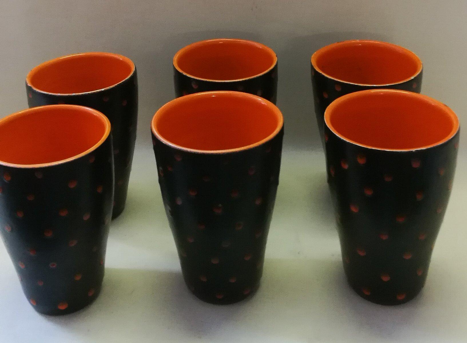 Picone albisola anfora in ceramica con decoro nei toni dell