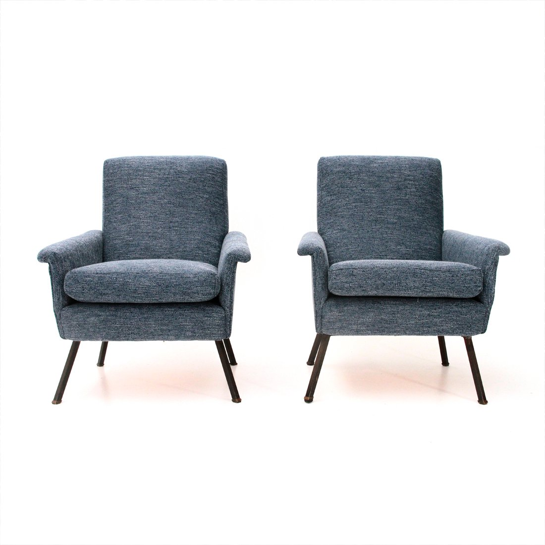 mid century sessel 1960er 2er set carmelo styling. Black Bedroom Furniture Sets. Home Design Ideas