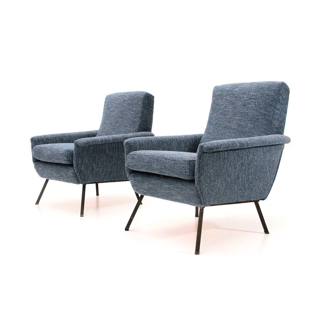 mid century sessel 1960er 2er set bei pamono kaufen. Black Bedroom Furniture Sets. Home Design Ideas