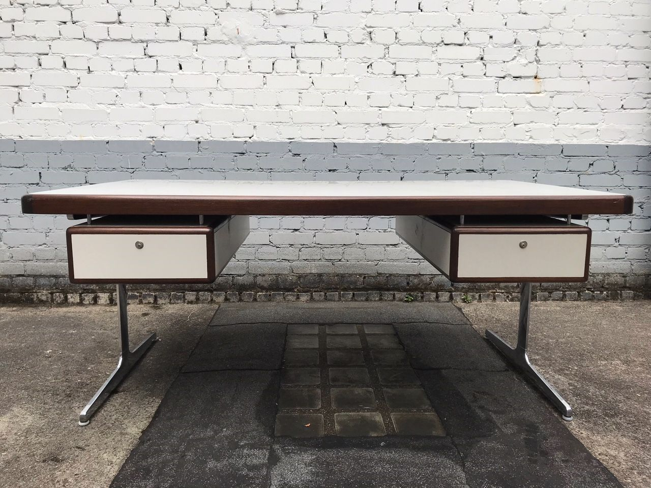 Large Desk By George Nelson For Herman Miller, 1960s