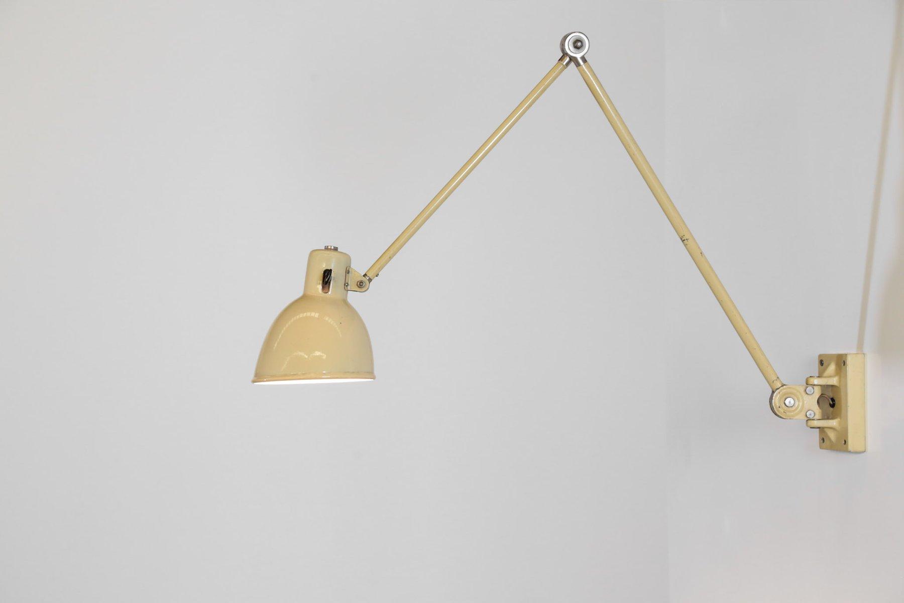 Wandlampe von BAG Turgi, 1960er