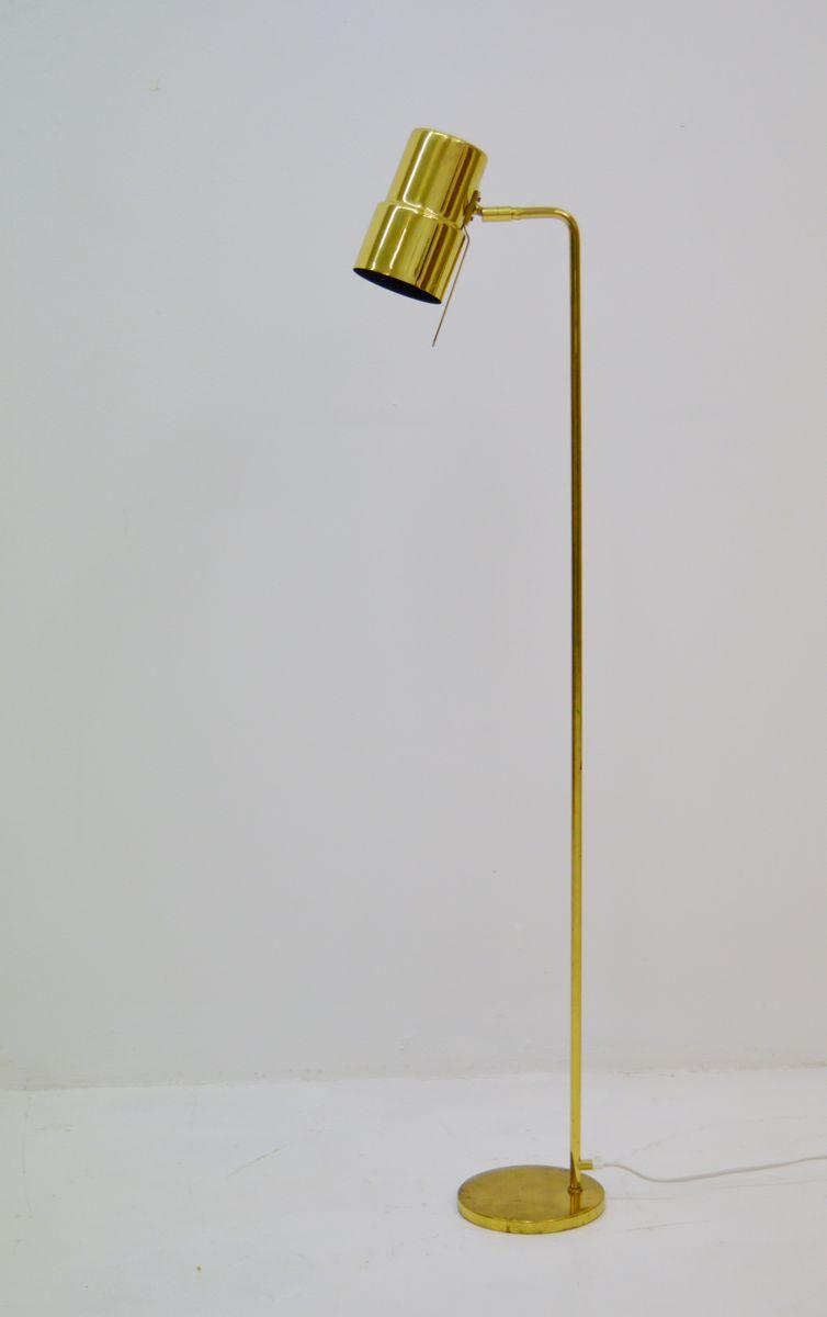 Mid-Century Messing Modell G-154 Stehlampe von Hans-Agne Jakobsson