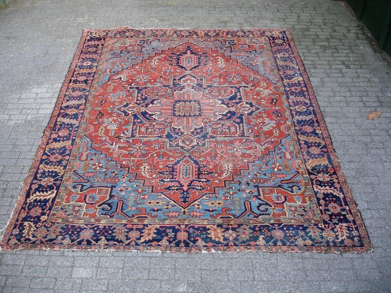 gro er antiker orientalischer teppich bei pamono kaufen. Black Bedroom Furniture Sets. Home Design Ideas