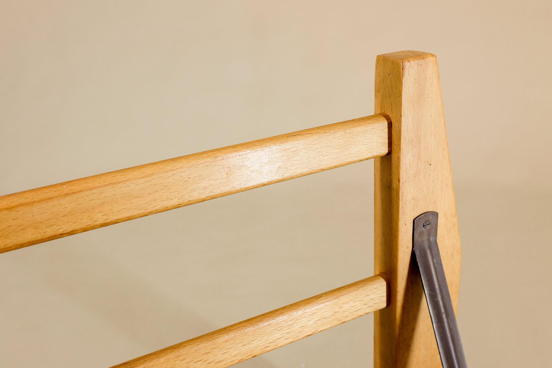 garderobe aus holz von johannes trommler kg 1950er bei pamono kaufen. Black Bedroom Furniture Sets. Home Design Ideas