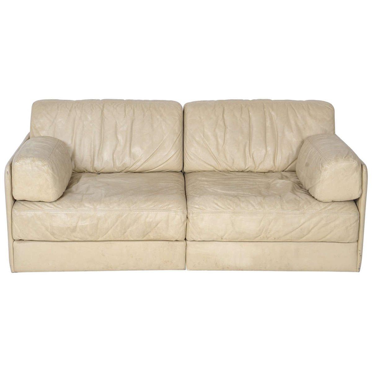 Modulares Vintage Modell DS-76 2-Sitzer Sofa von de Sede