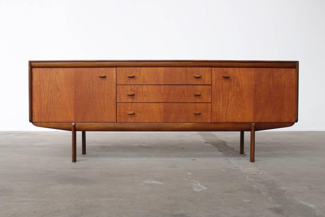 Afromosia Holz & Teak Sideboard von weiß & Newton, 1960er