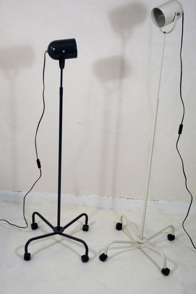 Postmoderne Panto Beam Stehlampen von Verner Panton, 1990er, 2er Set