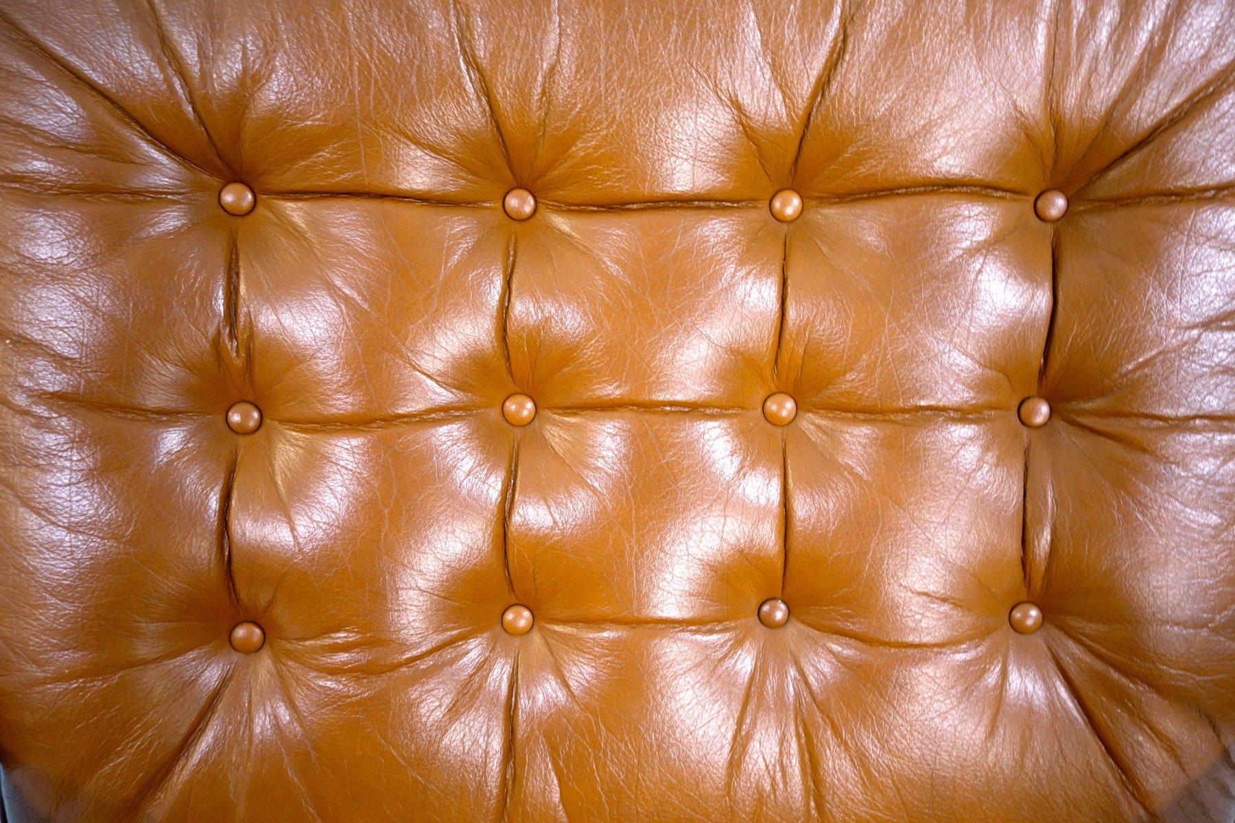 mid century armlehnsessel aus palisander leder von g te. Black Bedroom Furniture Sets. Home Design Ideas