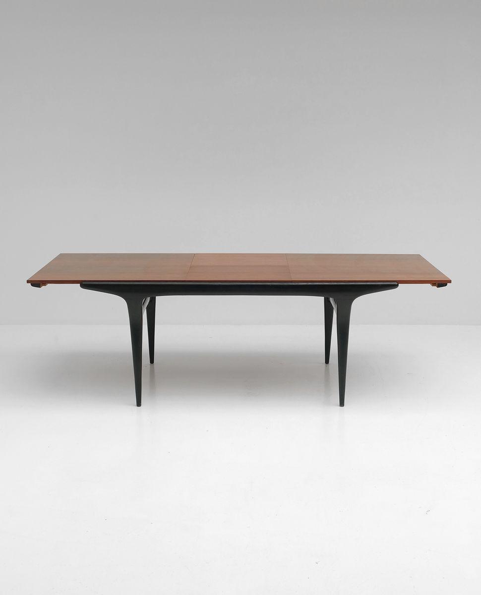 Palisander Tisch von Alfred Hendrickx für Belform, 1950er