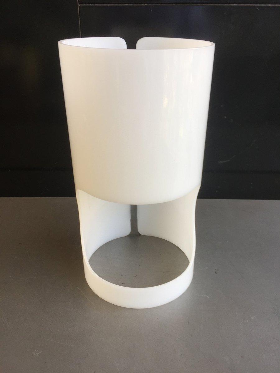 Zylinderförmige Tischlampe von Joan Antoni Blanc für Tramo, 1967