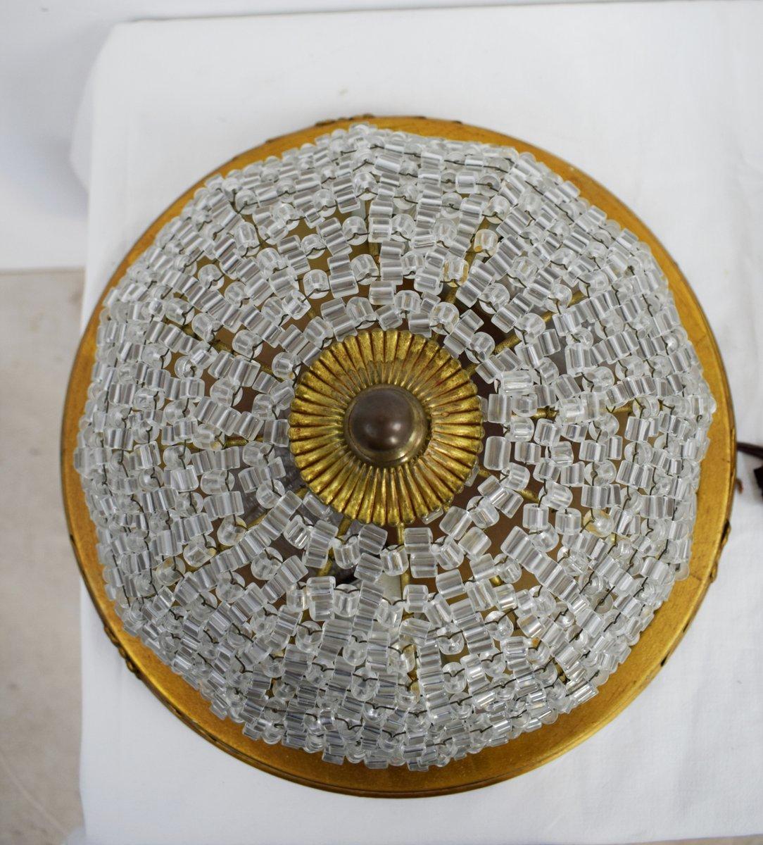 italienische deckenlampen 1940er 2er set bei pamono kaufen