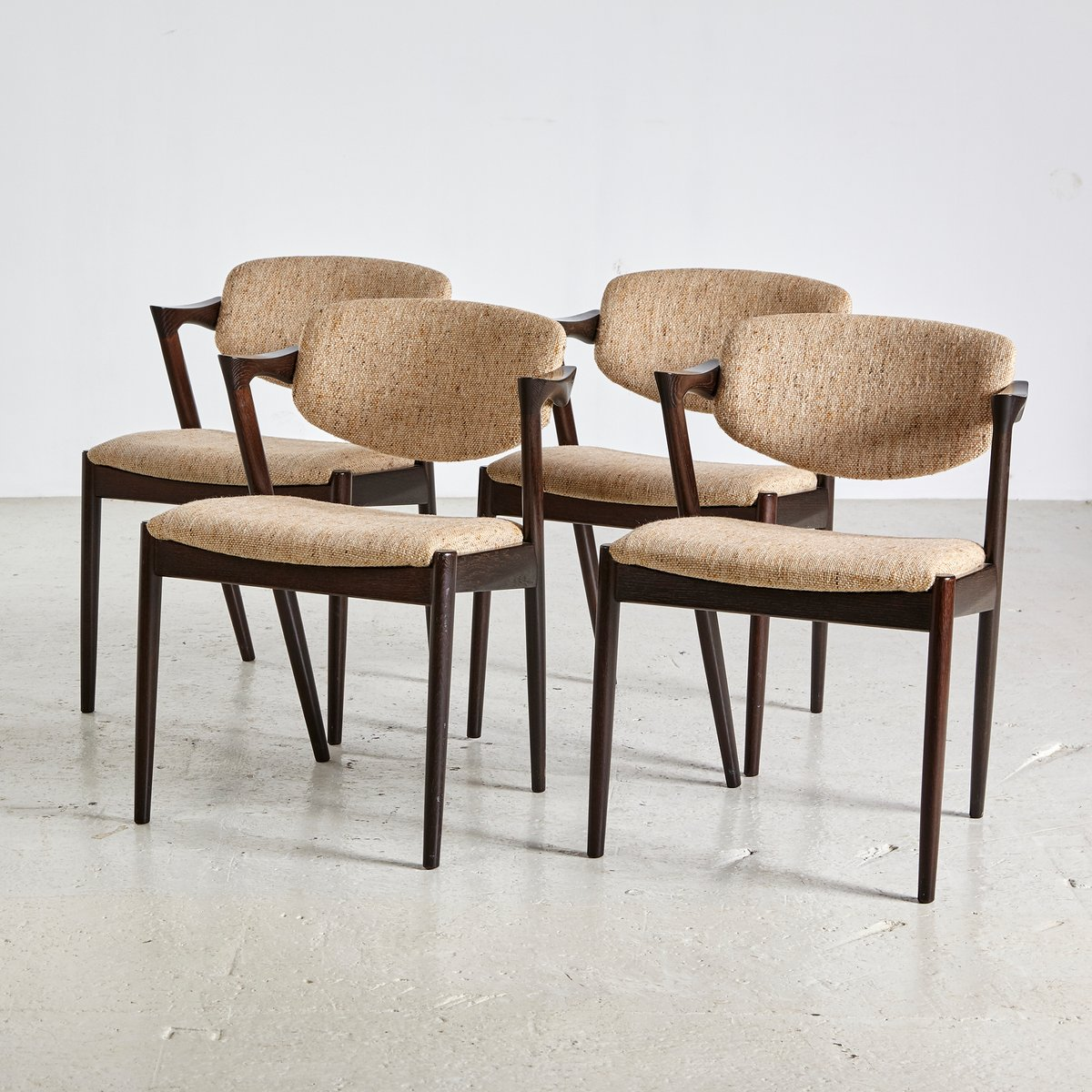 Mid century modell 42 stuhl von kai kristiansen f r schou andersen 1960er bei pamono kaufen - Mid century stuhl ...