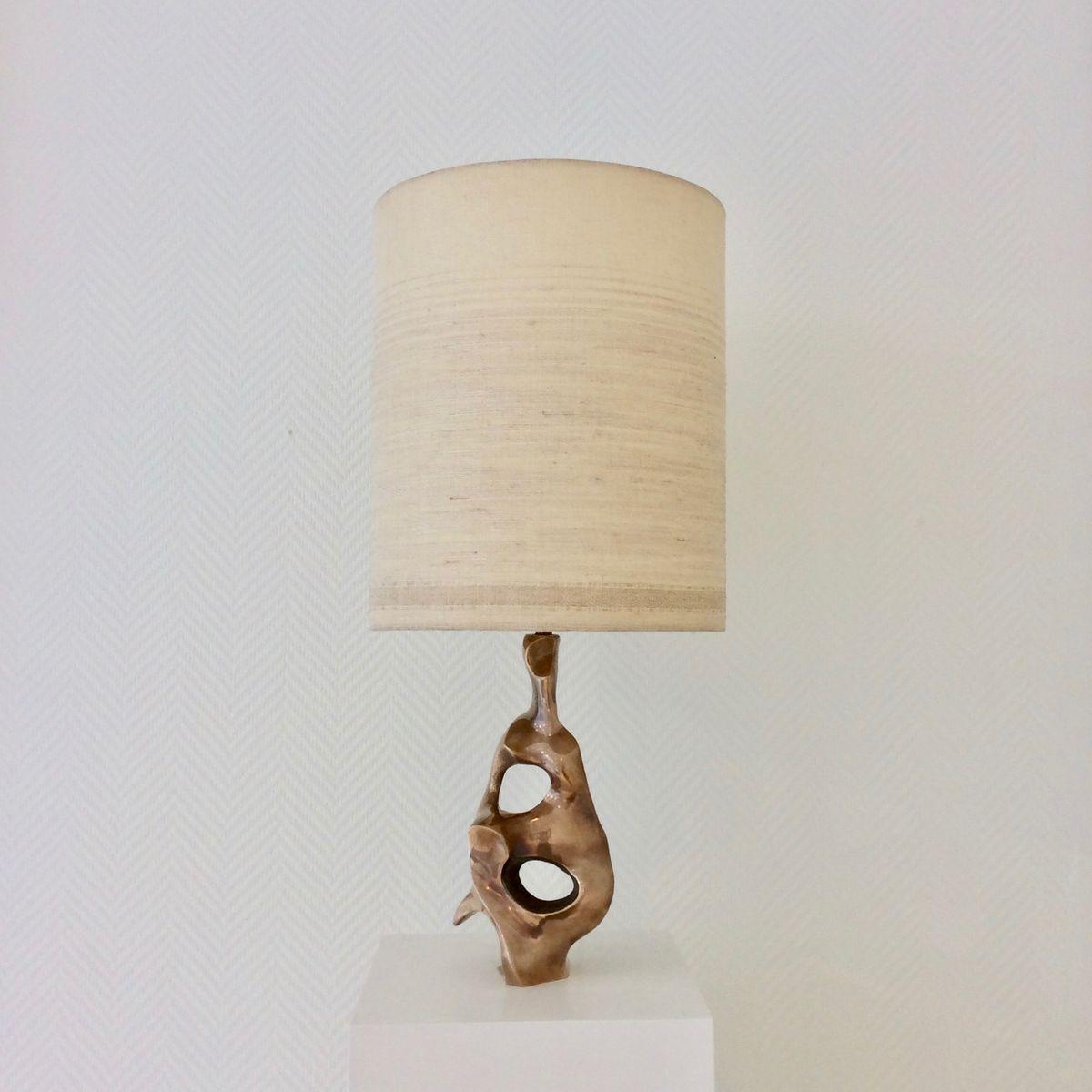 Skulpturale Tischlampe von Michel Jaubert, 1970er