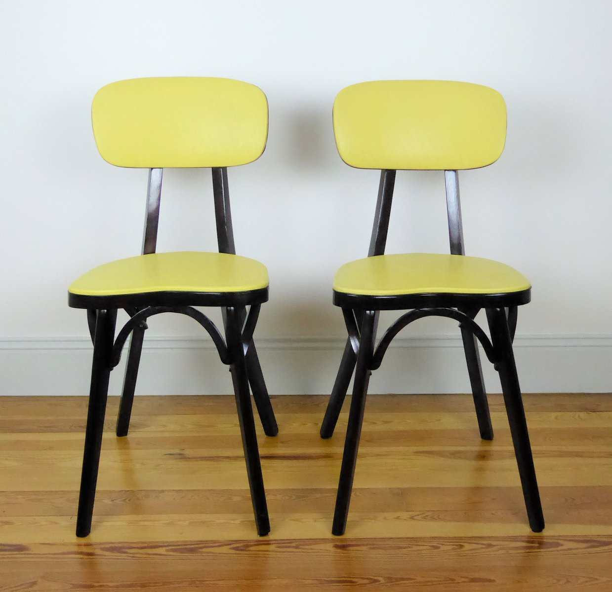 Chaises De Bistrot Vintage Par Joamin Baumann 1960s Set 2