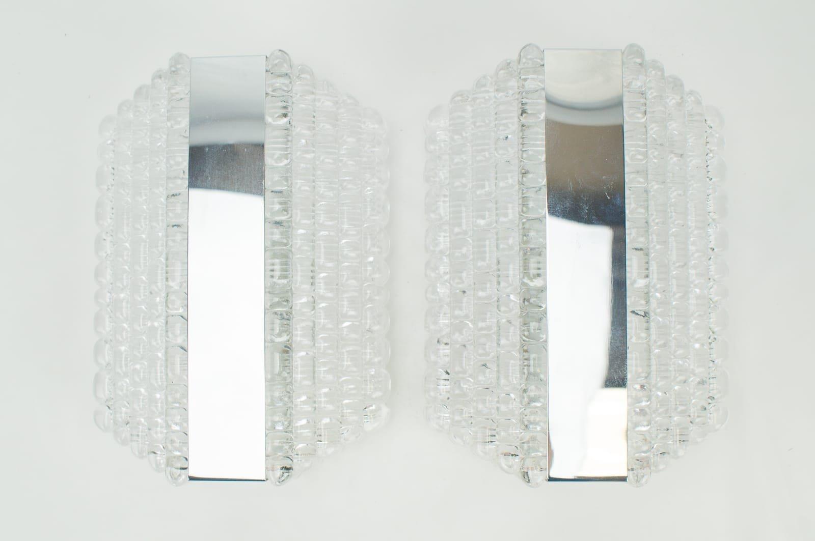 Wandlampen von Kaiser Leuchten, 1960er, 2er Set