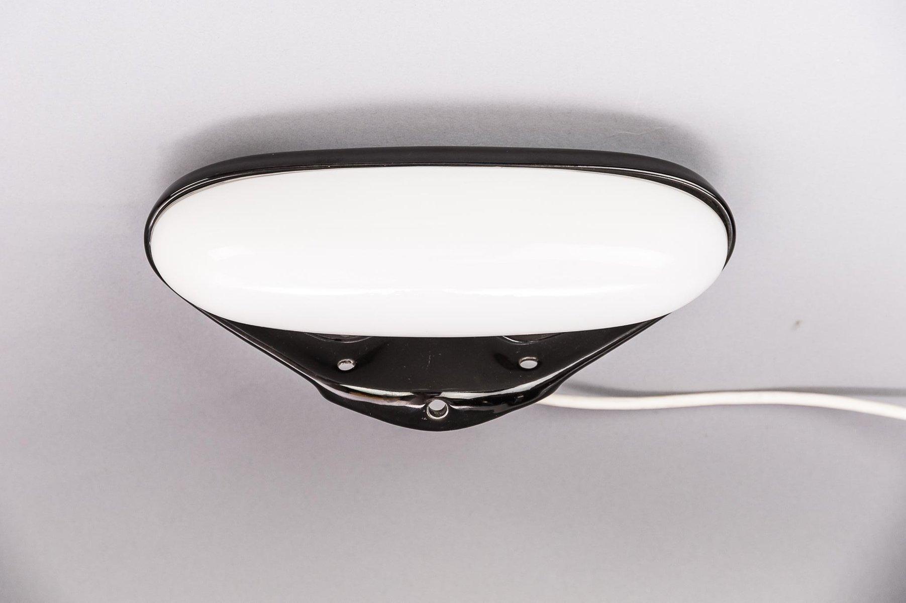 Wandlampe aus Porzellan von Wilhelm Wagenfeld,1950er