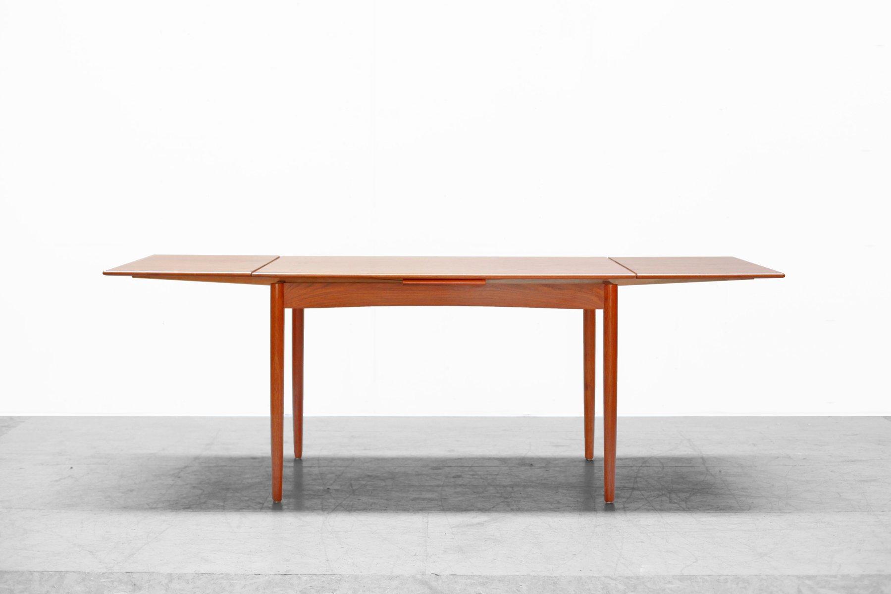 Tavolo Da Pranzo Moderno : Tavolo da pranzo moderno in teak anni 60 in vendita su pamono