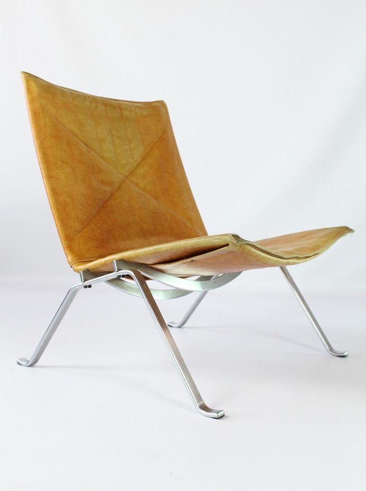 PK22 Vintage Sessel von Poul Kjærholm für Kold Christensen, 2er Set