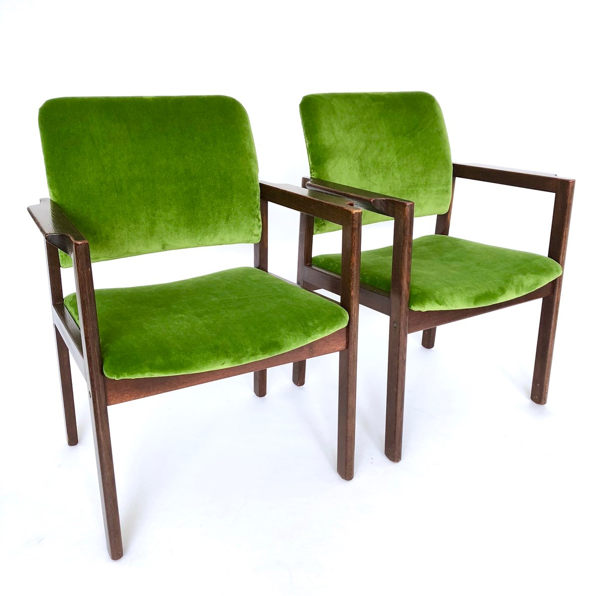 Vintage Danish Chairs From Bjerringbro Kontormøbler, Set Of 2