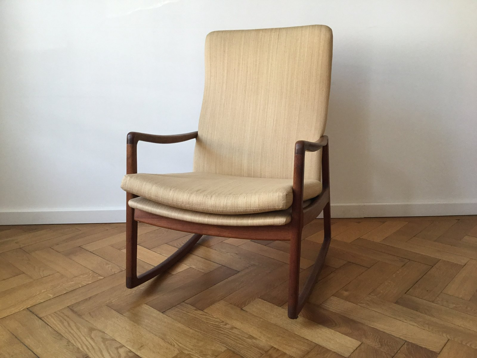 Model 160 Rocking Chair By Ole Wanscher 1950s For Sale At