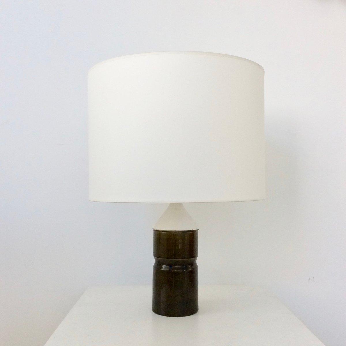 Französische Tischlampe aus Keramik, 1970er