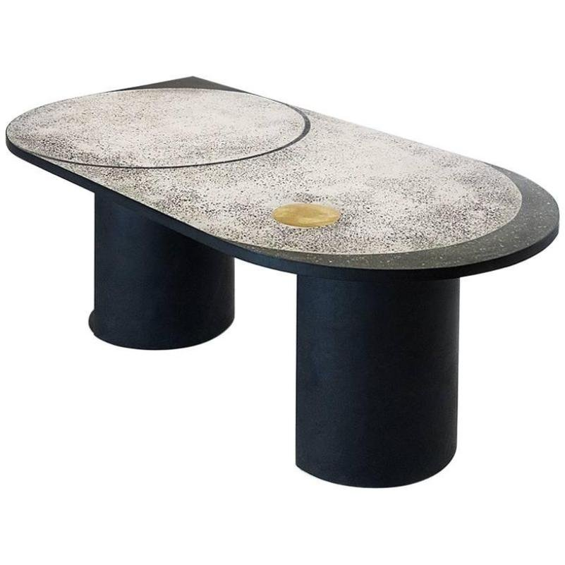 Mosaic Geometric Table by Rooms