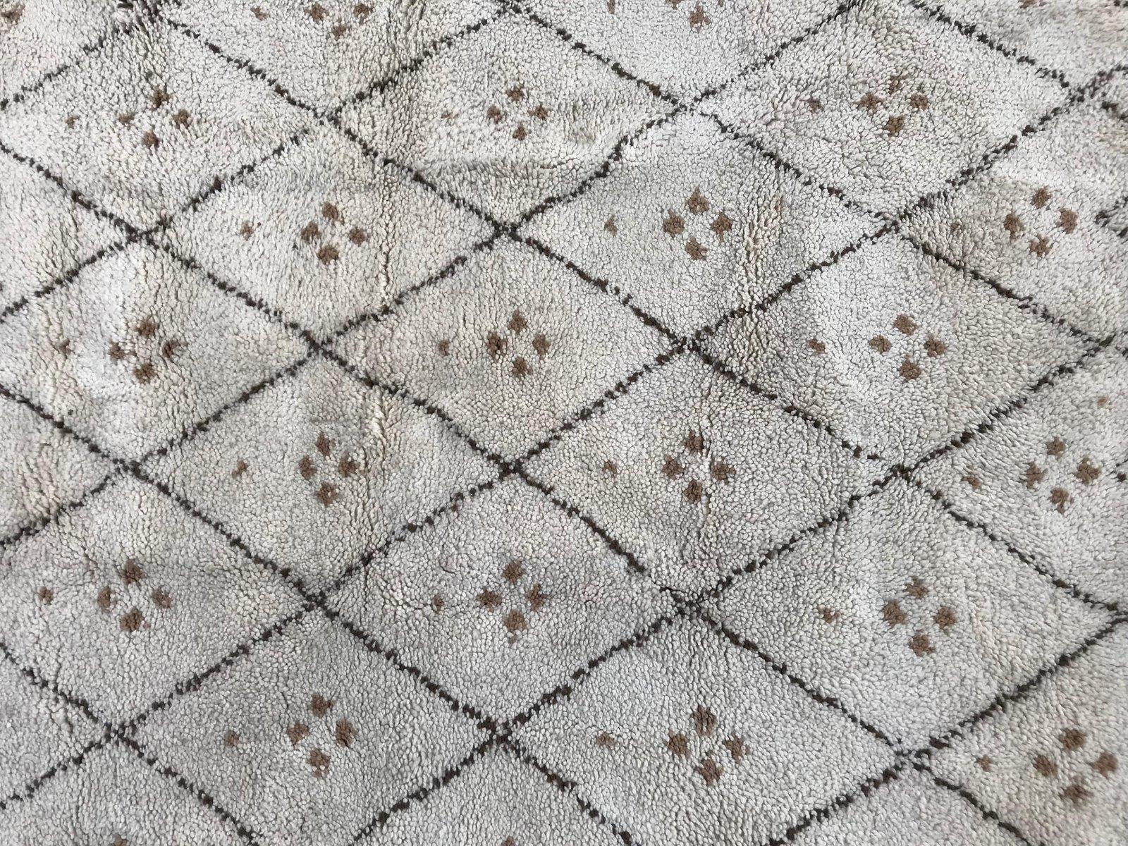 tapis beni ouarain vintage maroc - Tapis Beni Ouarain