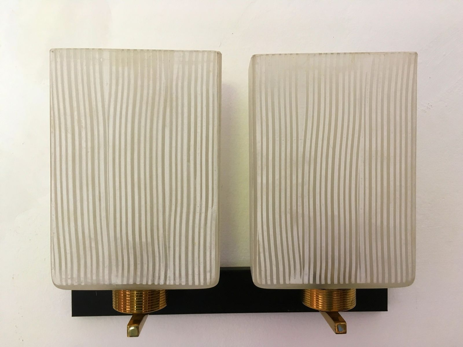 Vintage Wandlampen, 1950er, 2er Set